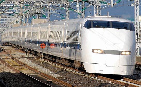 Japan, Train, Mass Transit, Passenger, Locomotive, Fast