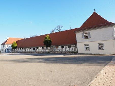 Farmhouse, Home, Hof, Agriculture, Fohlenhof