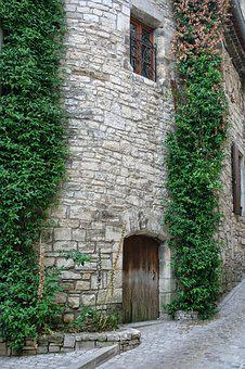 France, Gard, Provence, House, Pierre