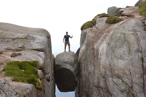 Kjerag, Fjord, Norway, Hike, Nature, Landscape, View