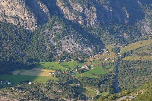 Norway, Kjerag, Fjord, Hike, View