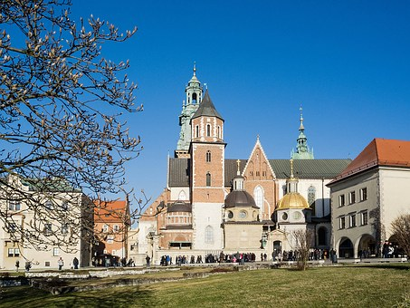 Krakow, Wawel, Poland, Castle, Cathedral And Castle