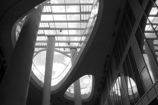 Architecture, Mainz, Light Shadow, Building