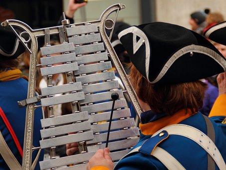 Glockenspiel, Xylophone, Shrove Monday, Marching, Music