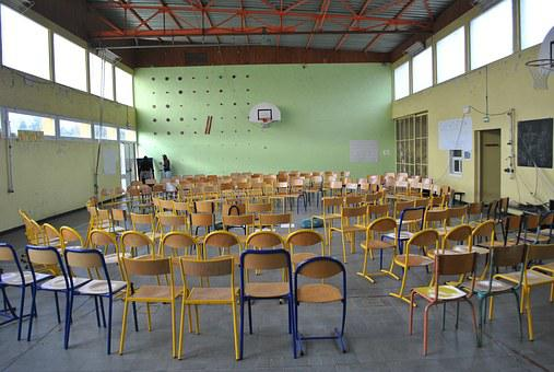 Meeting, Gym, Open Forum, Chairs, Circle