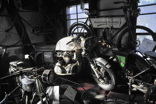 Motorcycle, Münch Mammut, Museum, Oldtimer, Classic