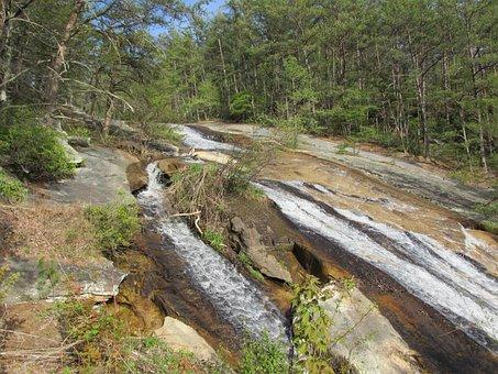 Blue Ridge Mountains, Usa, Mountain Stream