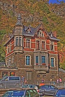 Altenahr, Hdr, House, Building, Exterior, Oriel