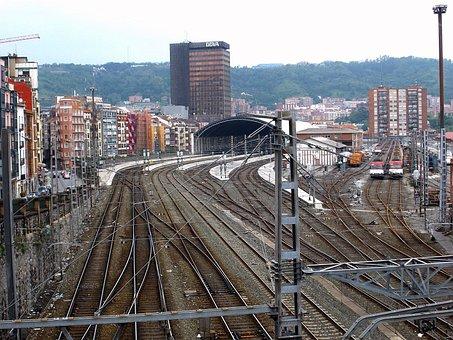 Bilbao, Spain, Railroad, Railway, Mass Transit