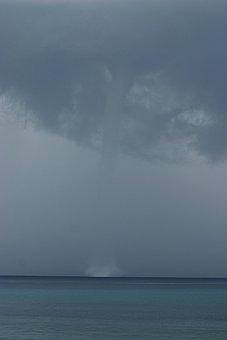 Water Spout, Weather, Spout, Tornado, Rare Weather