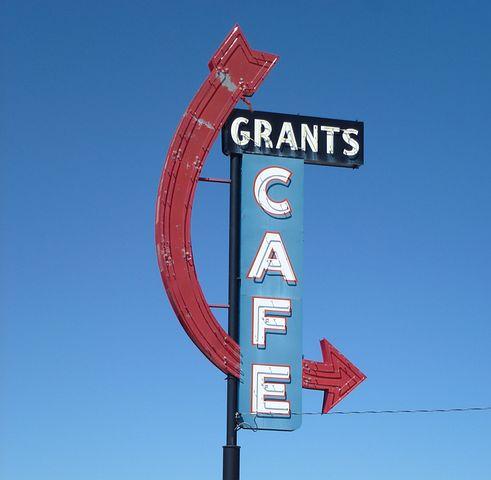 Route 66, Vintage, New Mexico, Grants Nm, Sign, Retro