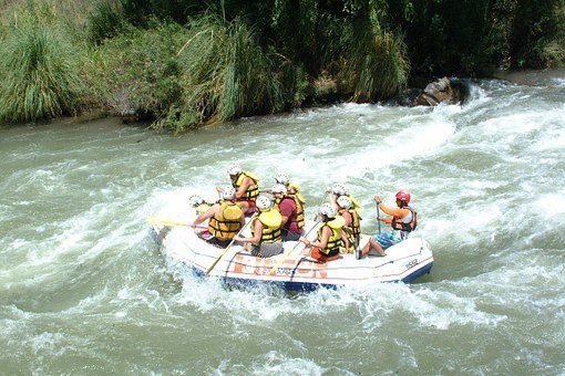Rafting, Boat, Danger, Decrease, Fear, River, Water