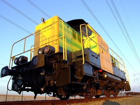 Rotterdam, Netherlands, Train, Locomotive, Colors