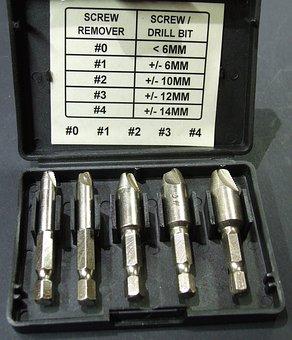 Screw Extractors, Bolt Extractors, Stud Extractors