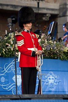 Trumpeter, Fanfare Trumpeter, Buckingham Palace