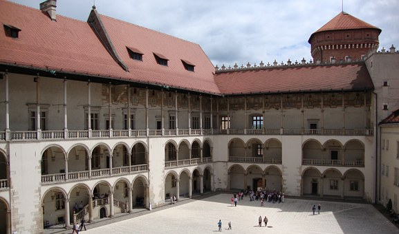 Kraków, Poland, Wawel, Castle