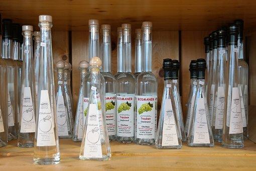 Brandy, Bottles, Fruit Spirit, Alcohol, Drink