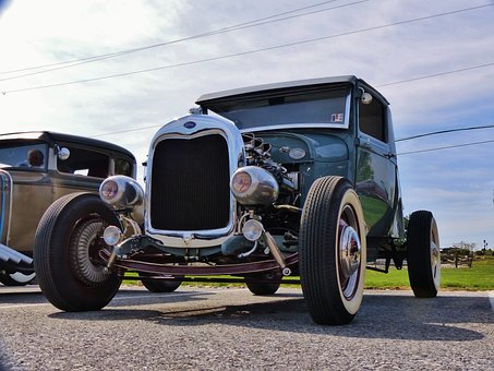 Ford, Model A, Antique, Antique Car, Hot Rod