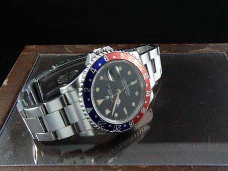 Wrist Watch, Clock, Automatic, Gmt-master, Gmt, Rolex