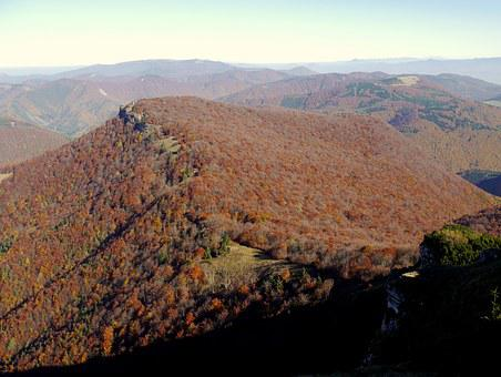 Slovakia, Mountains, Fatra, Autumn, Forests, Colors