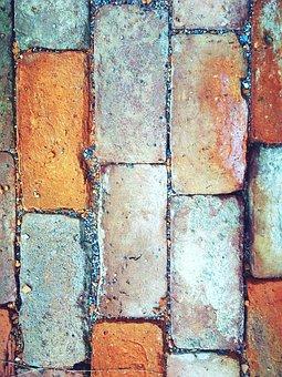 Brick, Wall, Stone, Mosaic, Bricks, Brick Wall, Pebble