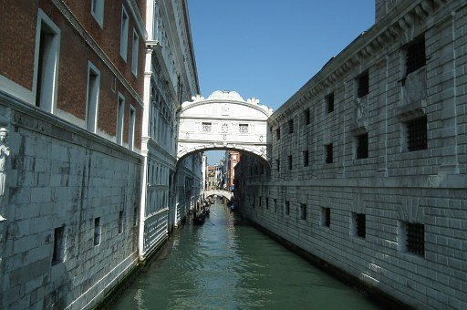 Venice, Bridge, Sighs, Channel, Wall