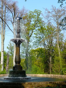 Peacock Island, Brunne, Fountain, Berlin, Havel