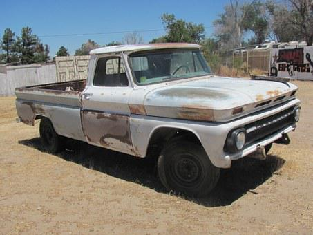 Chevy, Pickup, Car, Automobile, Classic Car, 64, Old