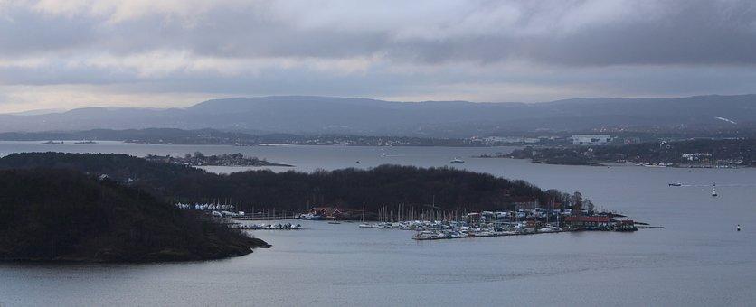 Oslofjord, Norway, Oslo, City, Scandinavia, Holiday