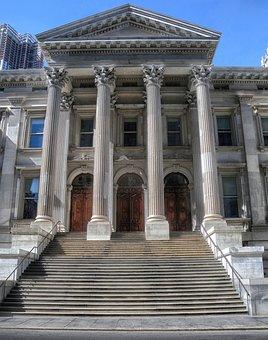 New York City, Tweed Courthouse, Urban, City, Columns
