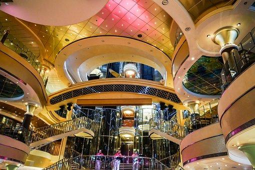 Cruise Ship, Interior Design, Tourism, Travel, Vacation