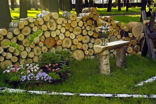 Dacha, Pile, Landscape Design, St Petersburg Russia