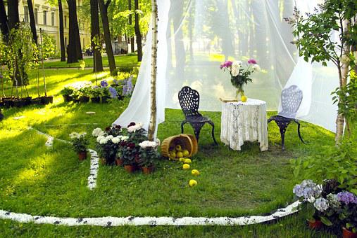 Dacha, Landscape Design, St Petersburg Russia