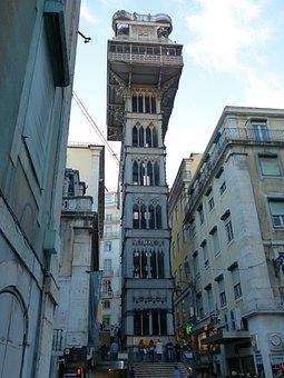Elevador De Santa Justa, Elevador Do Carmo, Elevator