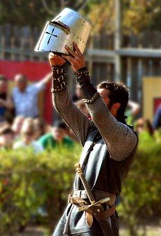 Knight, Helmet, Armor, Tournament, Medieval