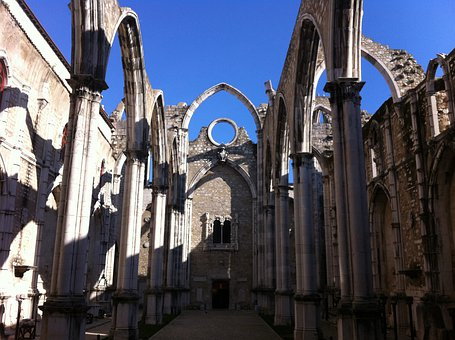 Lisbon, Carmo, Old Town, Portugal, Historically