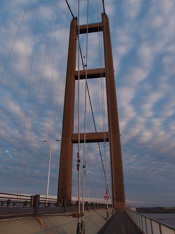 Humber Bridge, Bridge, Suspension, Architecture