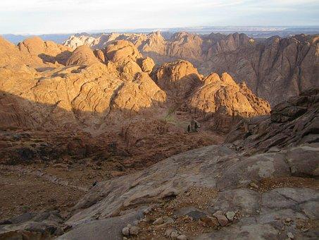 Sinai, Saint Catherine, Mountain, Egypt, Moses