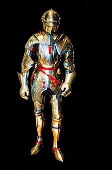 Knight, Armor, Armored, Protection, Steel, History, Old