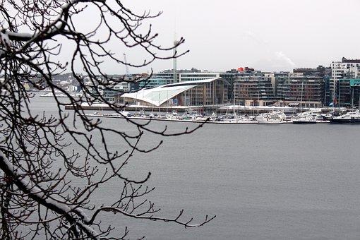 Oslo, Norway, Port, Oslofjord, City, Scandinavia