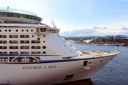Oslo, Norway, Ship, Cruise, Port, Oslofjord, City