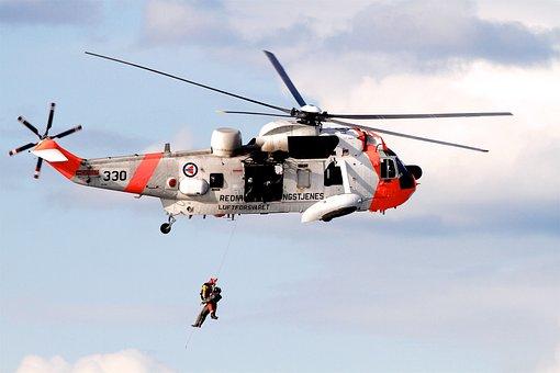 Norway, Pilot, Rescue, Rescue Man