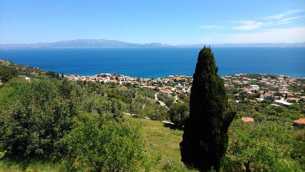 Saint Macarius, Chios, Greece, Aepos