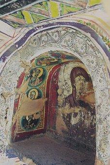 St Catherine's Monastery, Sinai, Fresco, Mural