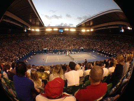 Tennis, Rod Laver Arena, Australia Open, Stadium