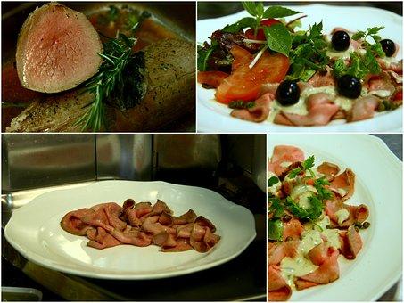 Dinner, Vitello Tonato, The Hague, Restaurant