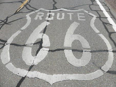 Road, Route 66, Arizona, Historic
