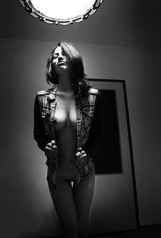Acts, Woman, Soft Light, Sexy, Beautiful, Breast, Lady