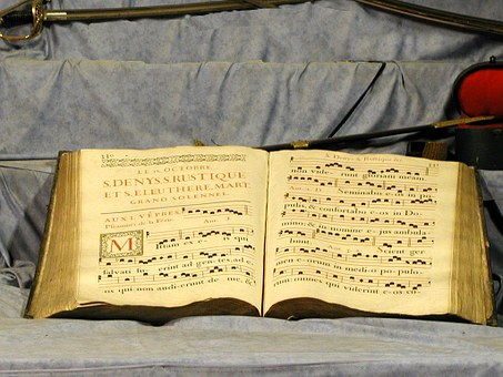 Choral Book, Music, Neumes, Gregorian Chant