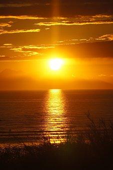 Alaska, Cook's Inlet, Coastal, Landscape, Ocean